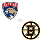 Florida Panthers at Boston Bruins
