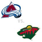 Colorado Avalanche at Minnesota Wild