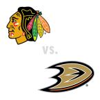 Chicago Blackhawks at Anaheim Ducks