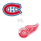 Montreal Canadiens at Detroit Red Wings