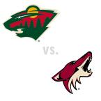 Minnesota Wild at Arizona Coyotes
