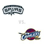 San Antonio Spurs at Cleveland Cavaliers