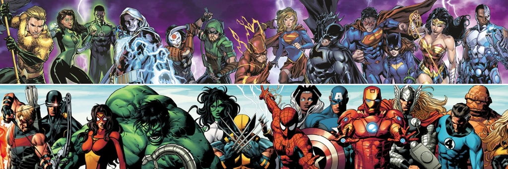 Dynamic Duel: DC vs. Marvel