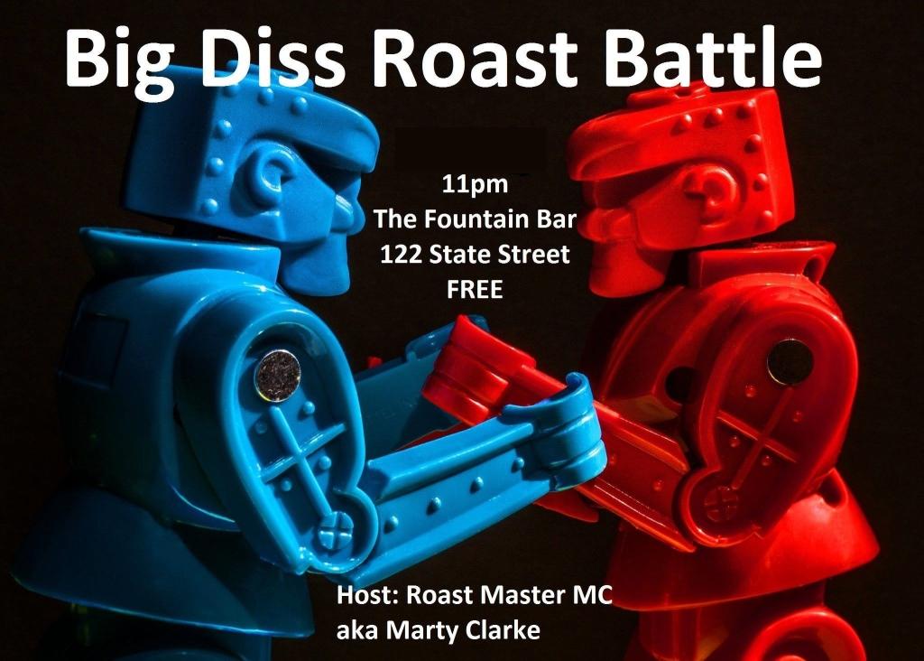 Big Diss Roast Battle Podcast