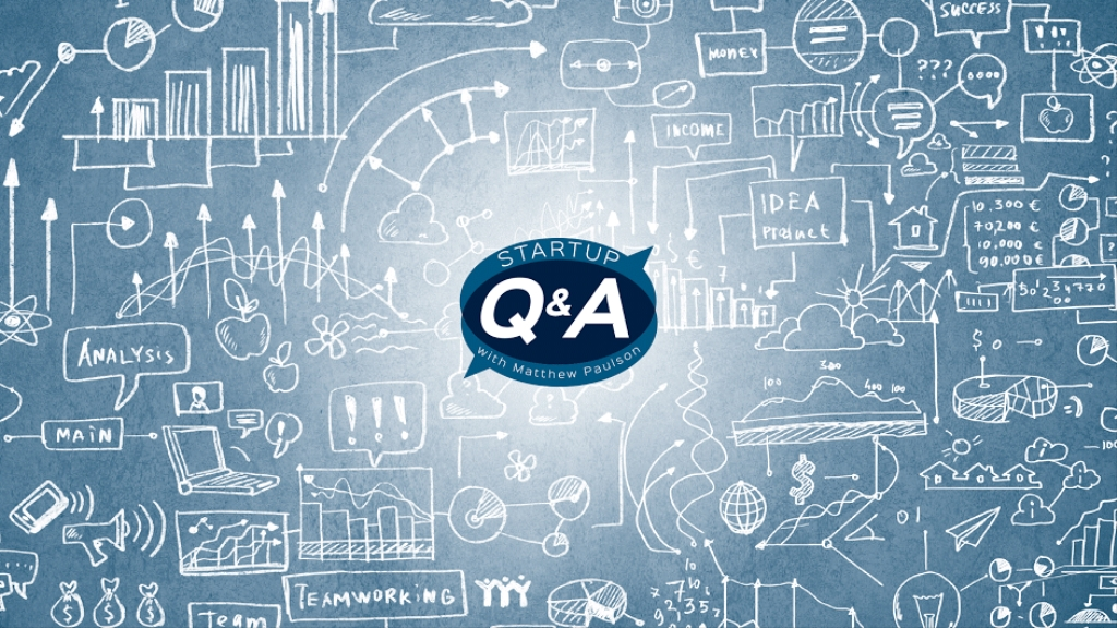 Startup Q&A with Matthew Paulson