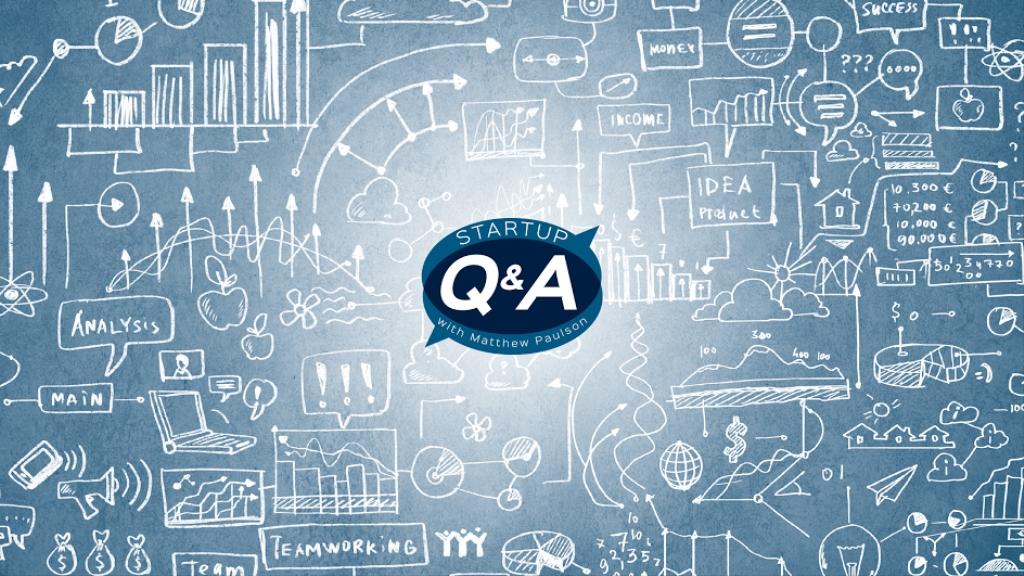 Startup Q&A with Matthew Paulson
