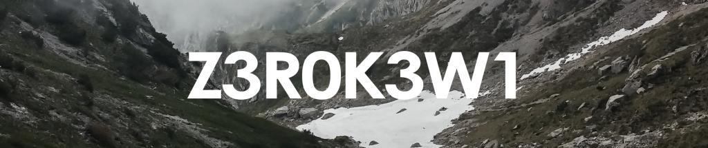 The Z3R0K3W1 Podcast
