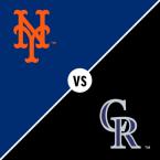 New York Mets at Colorado Rockies