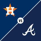 Houston Astros at Atlanta Braves