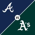 Atlanta Braves at Oakland Athletics