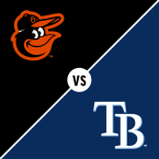 Baltimore Orioles at Tampa Bay Rays