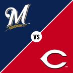 Milwaukee Brewers at Cincinnati Reds