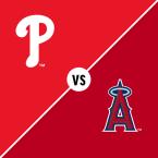 Philadelphia Phillies at Los Angeles Angels of Anaheim