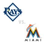 Tampa Bay Rays at Miami Marlins