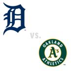 Detroit Tigers at Oakland Athletics