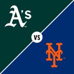 Oakland Athletics at New York Mets