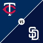 Minnesota Twins at San Diego Padres