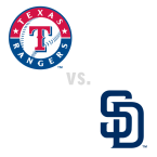 Texas Rangers at San Diego Padres