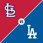 St. Louis Cardinals at Los Angeles Dodgers