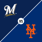 Milwaukee Brewers at New York Mets