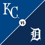 Kansas City Royals at Detroit Tigers