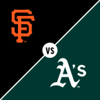 San Francisco Giants at Oakland Athletics