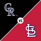 Colorado Rockies at St. Louis Cardinals