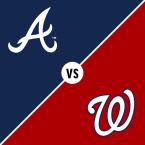 Atlanta Braves at Washington Nationals