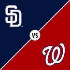San Diego Padres at Washington Nationals