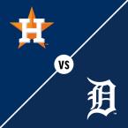 Houston Astros at Detroit Tigers