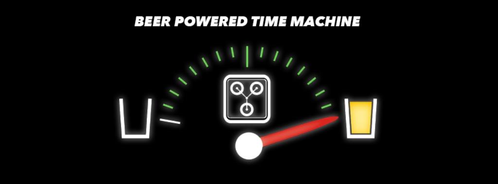 Beer Powered Time Machine