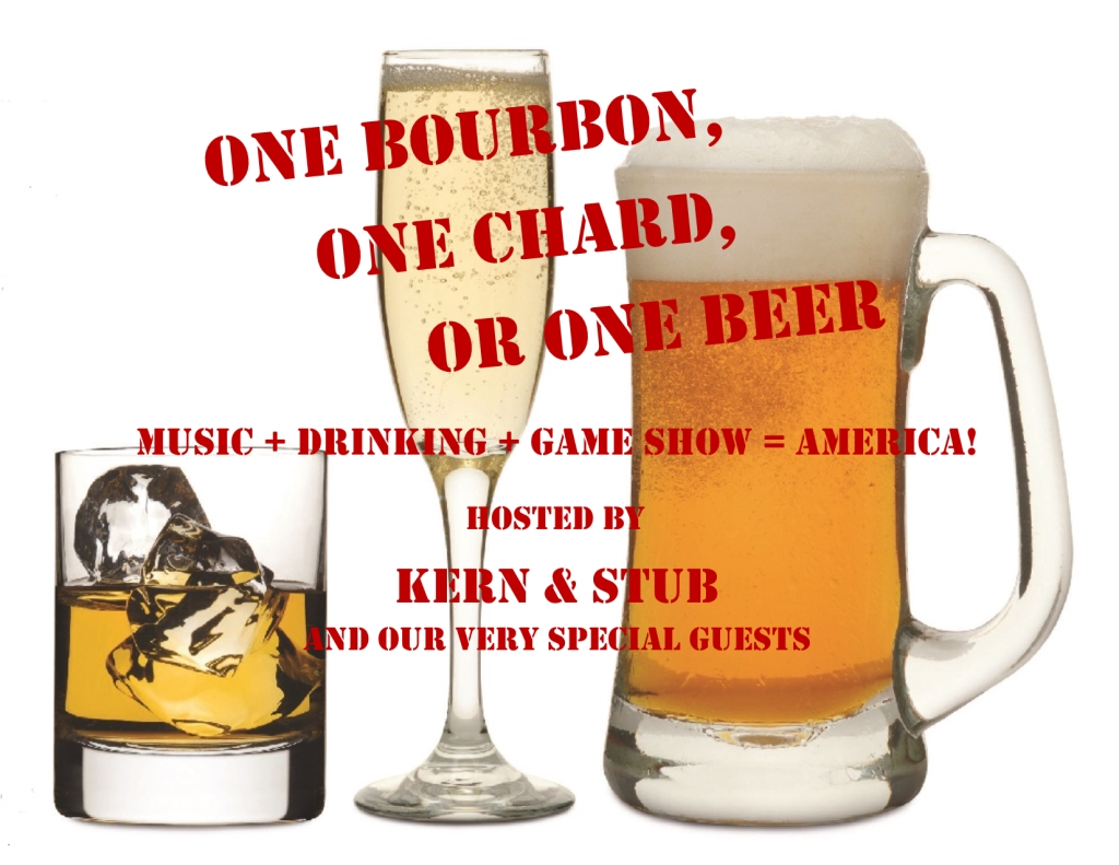 The One Bourbon, One Chard, Or One Beer Podcast