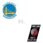 Golden State Warriors at Portland Trail Blazers