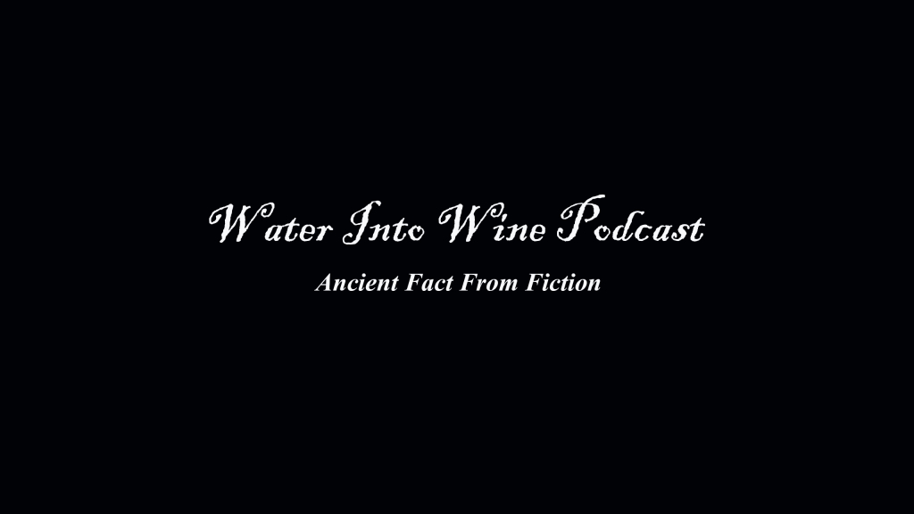 Water Into Wine Podcast