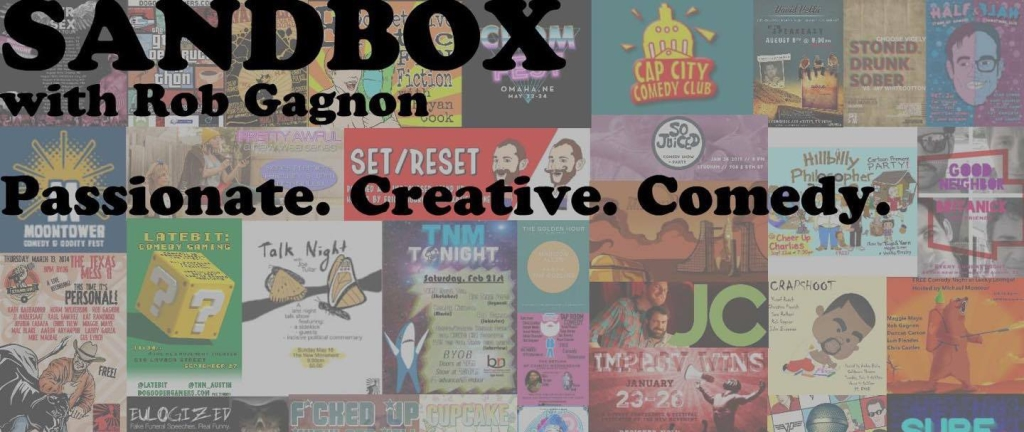Sandbox with Rob Gagnon