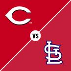 Cincinnati Reds at St. Louis Cardinals