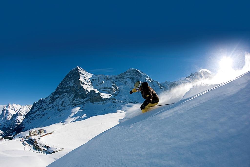 Esquí Desde Las Alturas