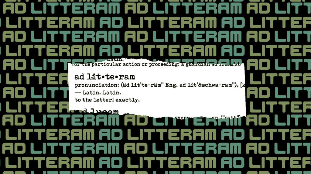 Ad Litteram