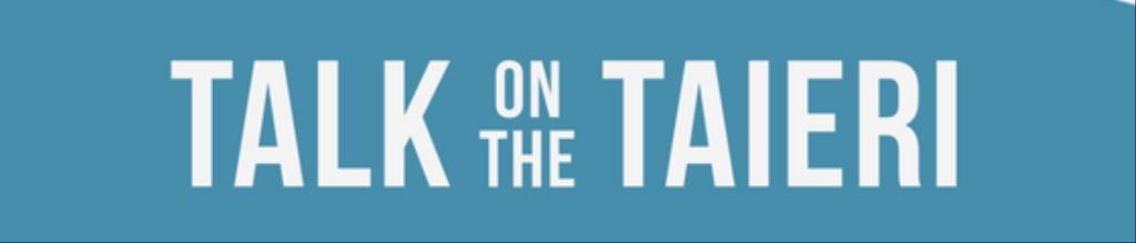 Talk on the Taieri