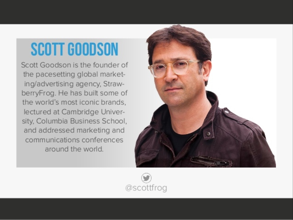 Scott Goodson's Uprising!!!