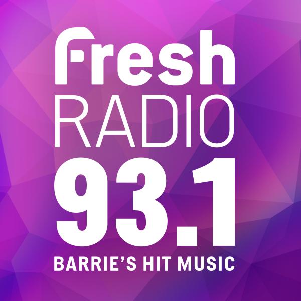 Fresh Radio 93 1, CHAY-FM 93 1 FM, Barrie, Canada   Free