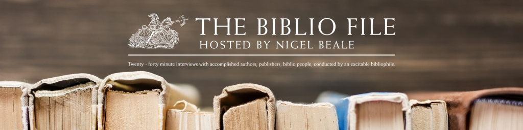 The Biblio File hosted by Nigel Beale