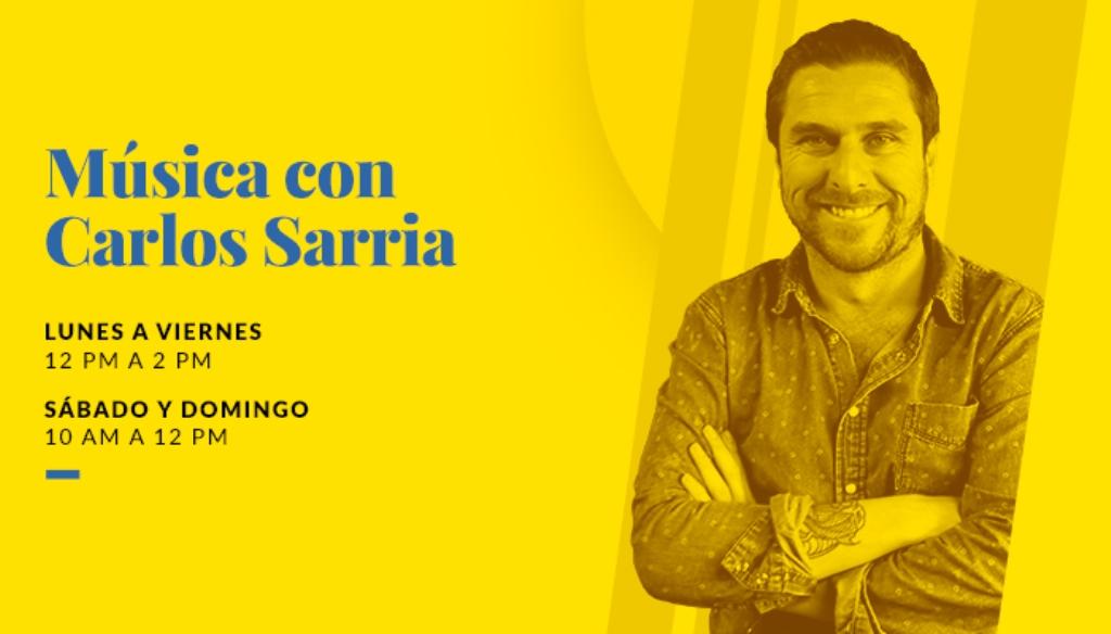 Música con Carlos Sarria