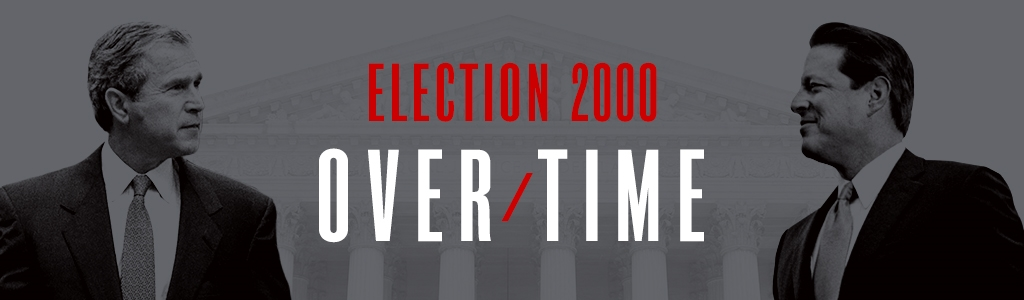 Election 2000: Over/Time