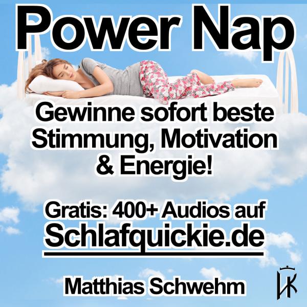 Power Nap deutsch: Im Hypnose-Kurzschlaf deine Akkus