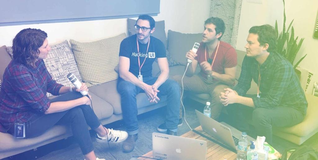 The Hacking UI Podcast - with Sagi Shrieber & David Tintner