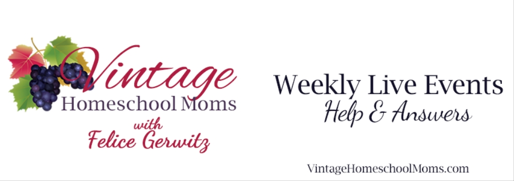 Vintage Homeschool Moms