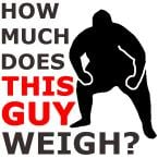 Listen to How Much Does This Guy Weigh? online