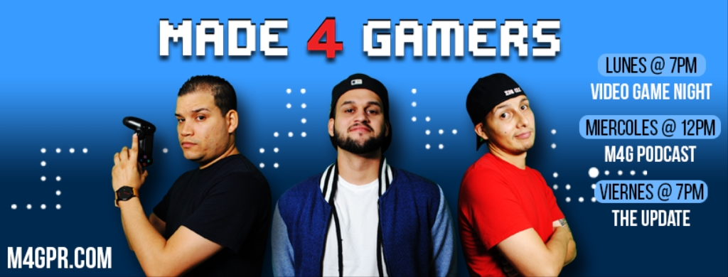 Made 4 Gamers (Hecho Para Gamers)