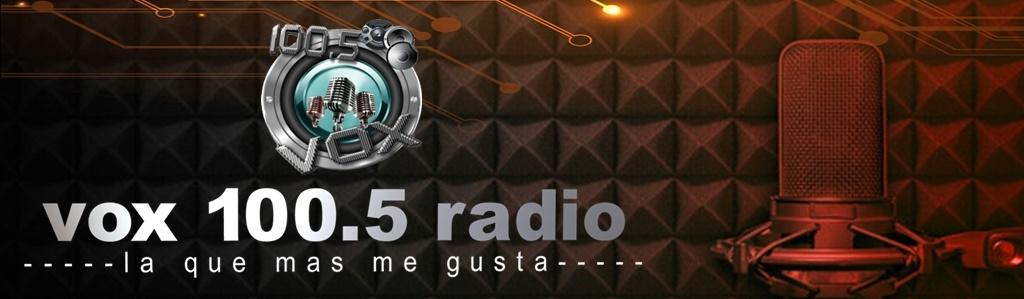 vox 100.5 radio